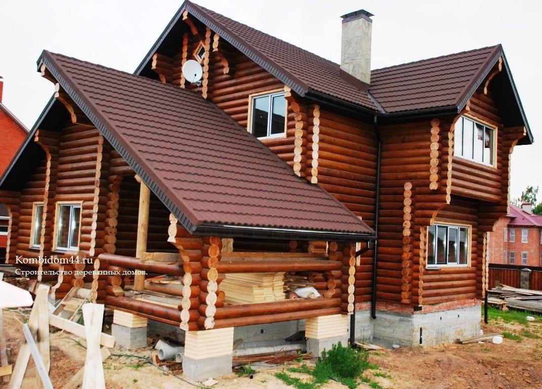 бревенчатые дома фото кострома выбора